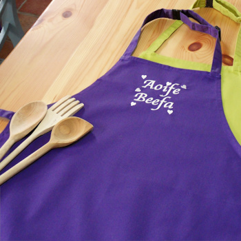 Purple Chefs Apron