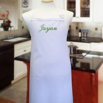 Personalised Chefs Apron White Cooking Apron