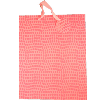 Gift Bag Pink Deco - Large Cards & Wrap