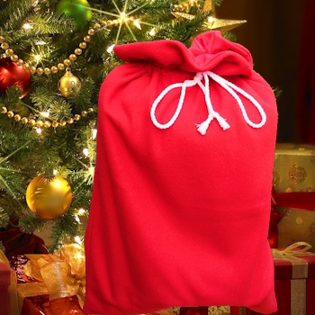 Christmas Sack Large Red Santa Sack