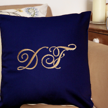 Initials Cushion