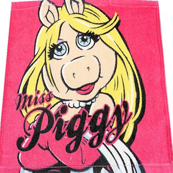 Muppets Face Cloth Muppets Miss Piggy Flannel