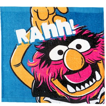 Muppets Face Cloth Animal Face Wash Cloth Flannel