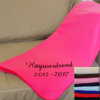 Leavers Blanket Personalised Bespoke Throw
