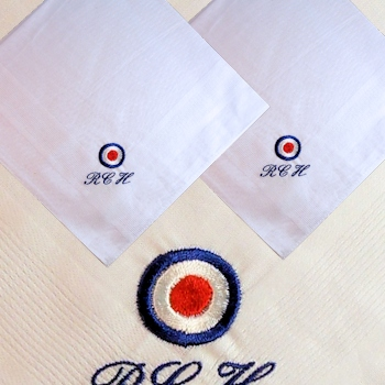 RAF Roundel Handkerchiefs Royal Airforce Roundel Hankies