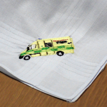Ambulance Handkerchief