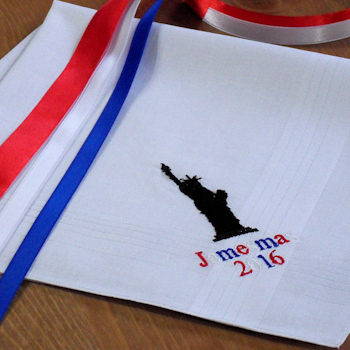 USA Handkerchief American Liberty Personalised Hanky