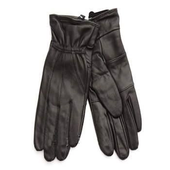 Ladies Leather Gloves Black Small Gloves
