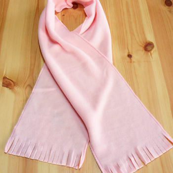 Childrens Pink Scarf