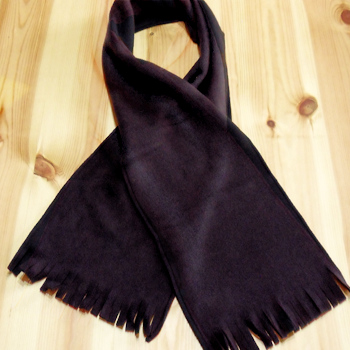 Childrens Black Scarf
