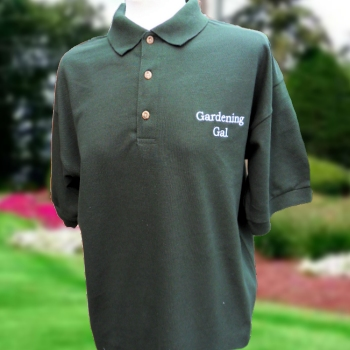 Personalised Polo Embroidered Bottle Green Polo Shirt