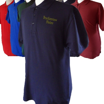 Personalised Polo Shirt Embroidered Shirt Navy