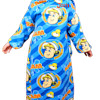 Fireman Sam Sleeved Snuggle Blanket
