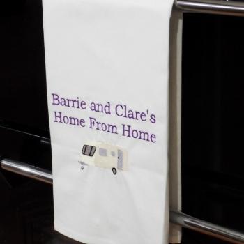 Beach Towel Caravan Print Uk