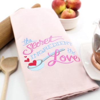Secret Ingredient is Love Towel