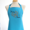 Womens Personalised Aprons Butterfly Embroidery