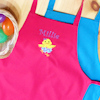 Easter Chick Apron Kids Cooking Aprons