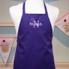 Girls Apron Childs Cotton Chefs Apron