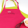Kids Apron Personalised Celebrity Signature Embroidery