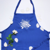 Womens Apron Gorgeous Rose Embroidered Apron