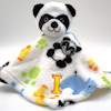 Panda Comfort Blanket Jungle Soft Monogrammed Blankie