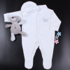 White Hat and Sleepsuit Gift