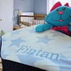 Personalised Blue Stars Blanket