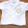 Easter Sleepsuit Personalised Egg Babygrow