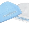 Personalised Blue Cotton Baby Hat