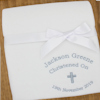 Personalised Baptism Fleece Blanket