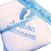 Newborn Baby Gift with Personalised Ribbon