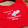 Love Hearts 1st Baby Bib