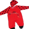 Newborn Baby Grow Ladybird Onesie and Hat