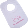 Personalised Bibs I Love My... Cotton Bib