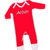 Personalised Baby Grows Red Onesie Romper