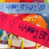 Personalised Banners Birthday Party Anniversary Banner