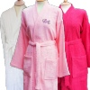 Personalised Bathrobe Womens Pink Robe