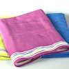 Peronsliased Beach Towel Purple Velour Swim Towel