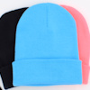 Personalised Beanie Hat Surf Blue Cuffed Hat