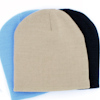 Personalised Hat Beige Beanie Cap