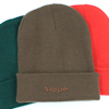 Personalised Beanie Hat Brown Cuffed Hat