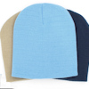 Personalised Hat Light Blue Beanie Cap