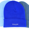 Personalised Beanie Hat Royal Blue Cuffed Hat