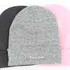 Personalised Beanie Hat RS Sport Grey Cuffed Hat
