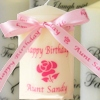 Personalised Candle Gift Candle Birthdays and Special Occasions