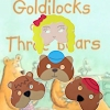 Childrens Play Masks Goldilocks and 3 Bears Fairy Tale Set