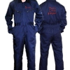 Childrens Personalised Overalls Coveralls Navy 8-9 yrs