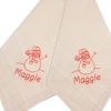 Childrens Christmas Handkerchiefs Personalised Snowman Pair of Hankies