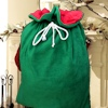 Green Christmas Sack