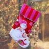 Christmas Stocking Luxury Candy Stripe Pink Stocking
